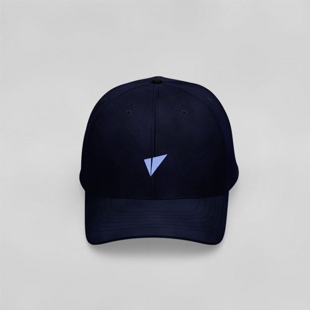 Vite Baseball Cap (Logo Only, Navy Blue)