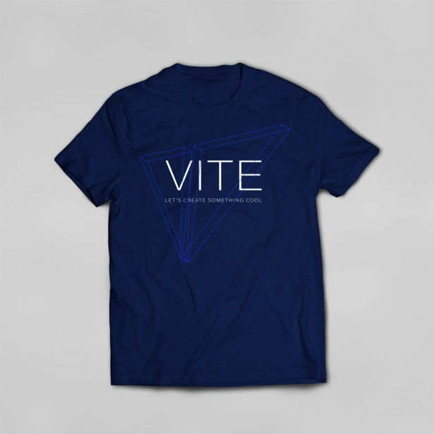 Vite T-shirt (Blue)